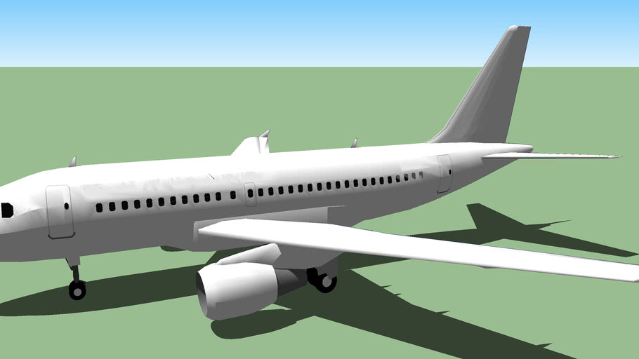 Template - Airbus A318.