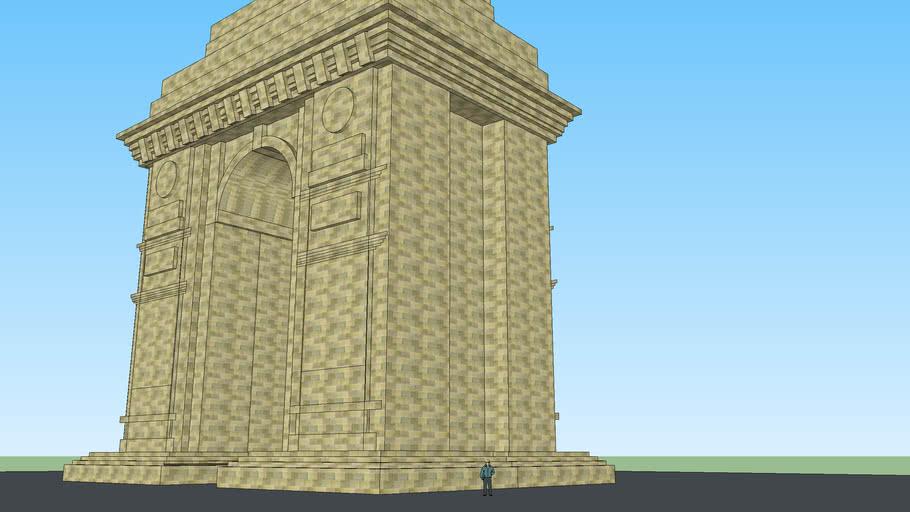 india gate delhi.