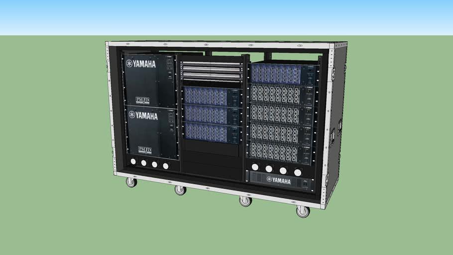 Yamaha PM1D Rack