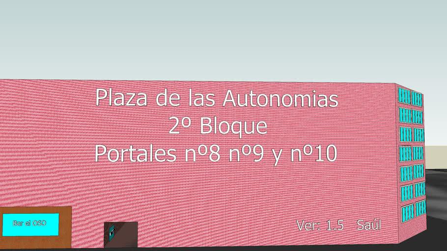 Plaza de las Autonomias Ver:1.5