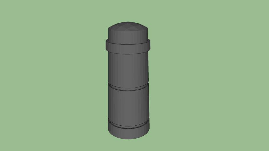R-9702 Concrete Bollard