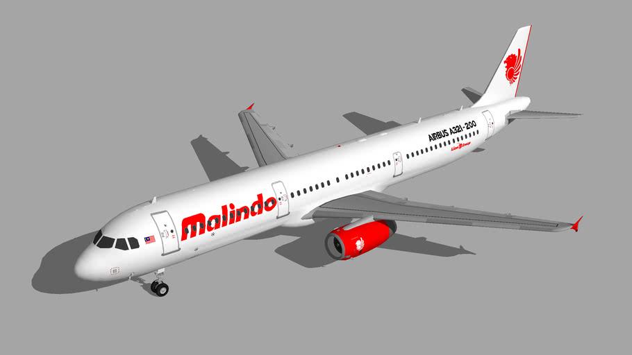 Malindo Air Airbus A321-200 1