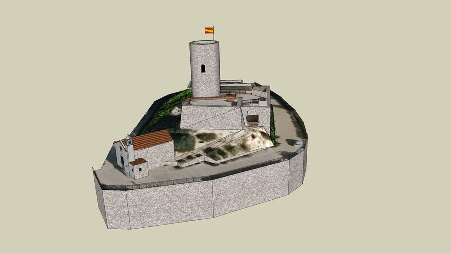 El castell de Sant Joan de Blanes