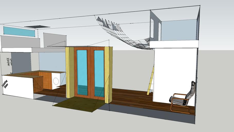 Trevett's 30' Tiny House on Wheels