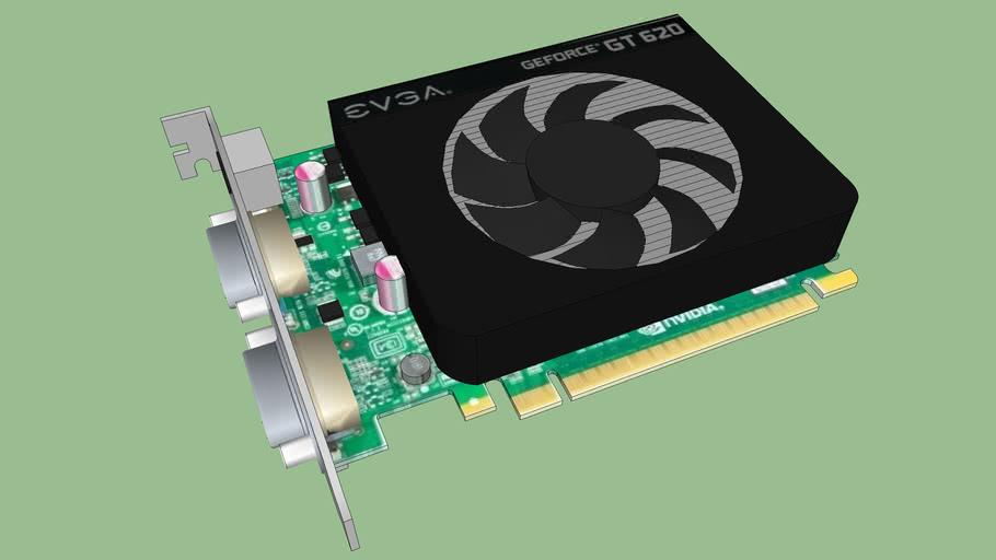 Nvidia 620 EVGA cooler
