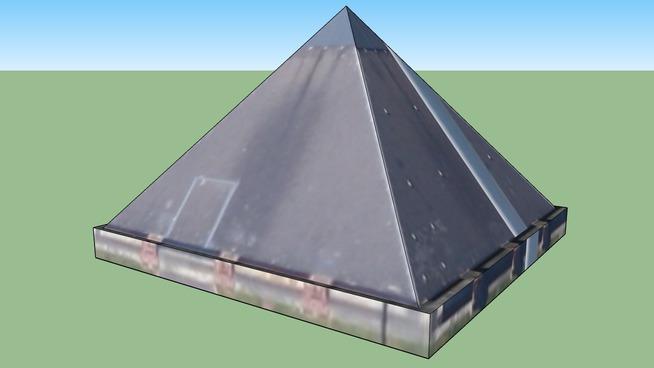 Pyramide Mons-en-Barœul, France