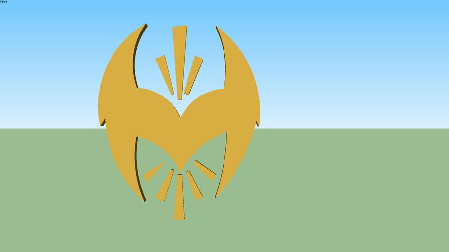 Sin Cara 3D Logo