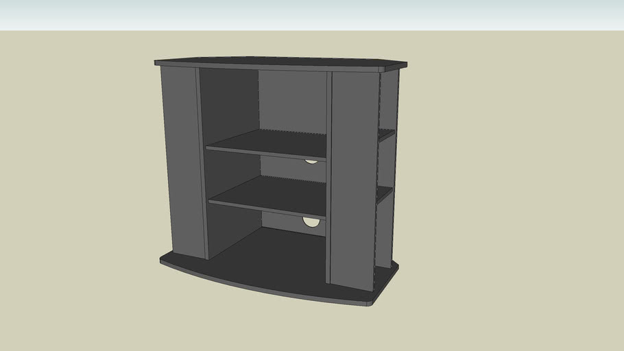 tv stand.skp