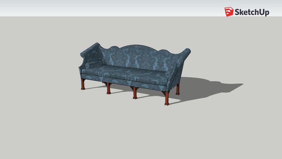Chippendale+Sofa.skp