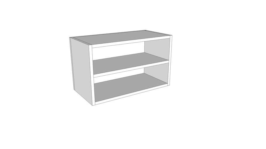 Otvoreni horizontalni gornji element - 60 cm - visina 36 cm