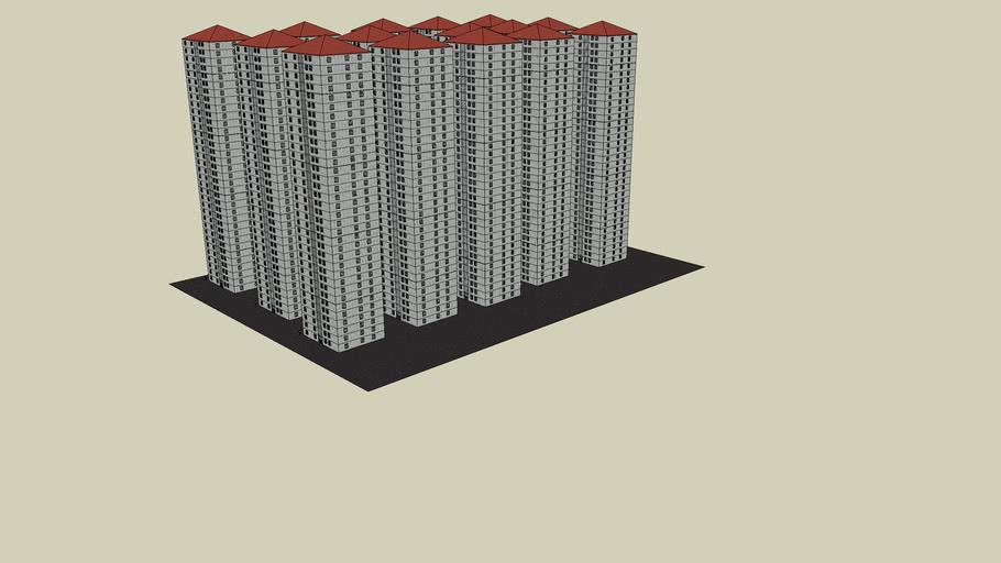urbanisacion , bloques , ciudad...