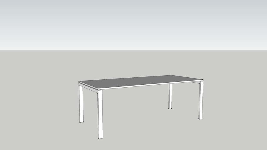 Levira ON desk N-leg 2000x900mm