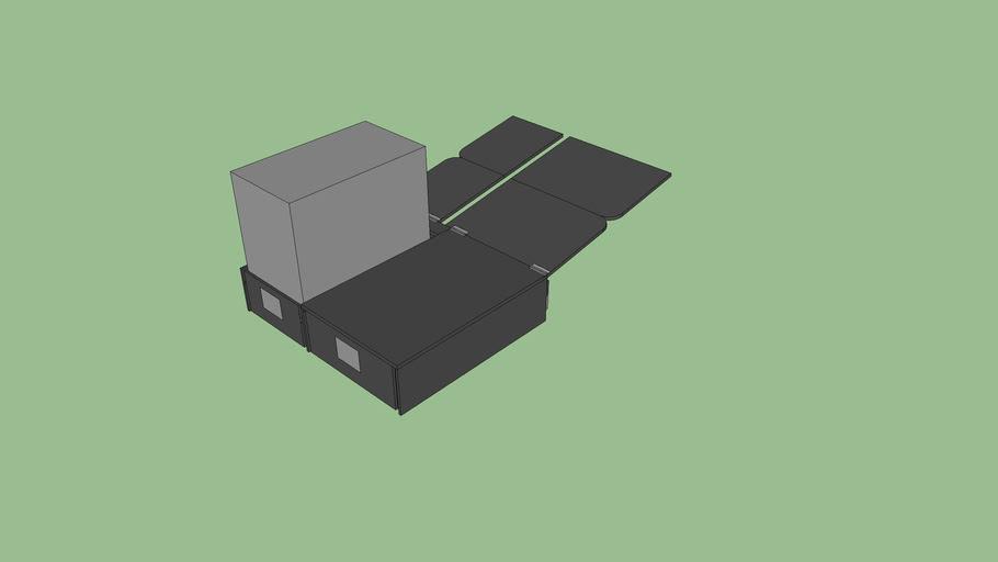 4Runner Storage and Sleeping Platform