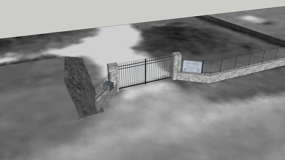 Le portail du Domaine de La Vigerie