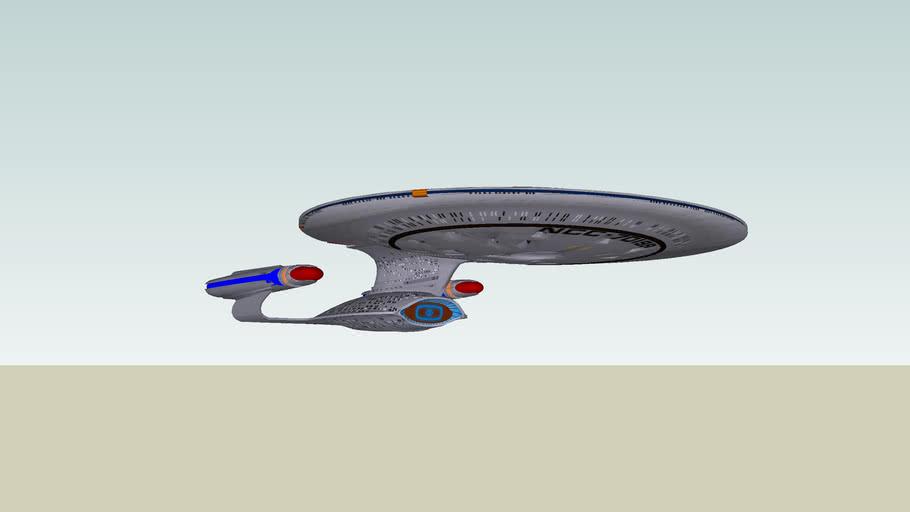 Galaxy Class Starship - Uss Challenger