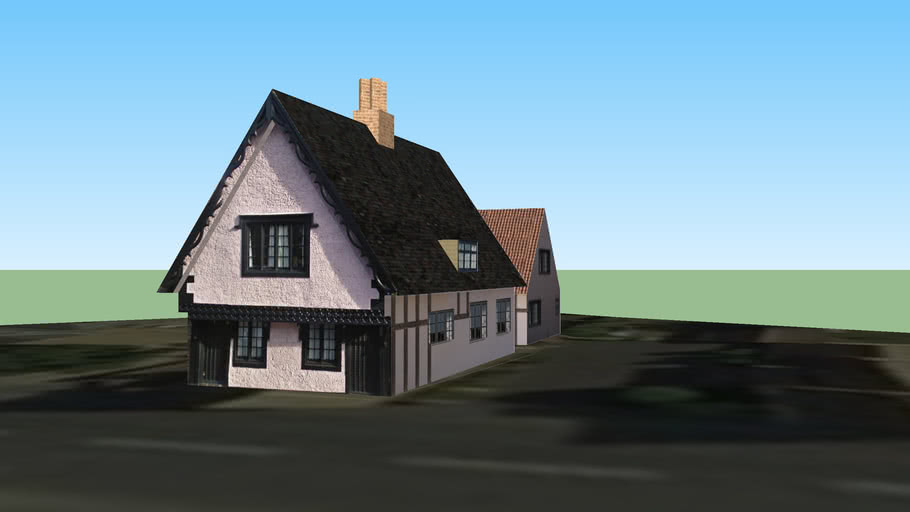 Old Court Hall (Early 17th Century)