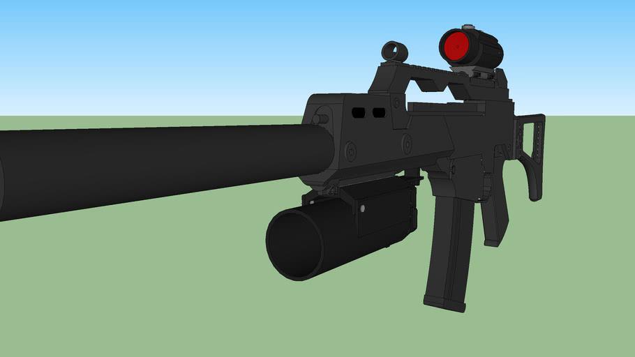 g36 lance grenade