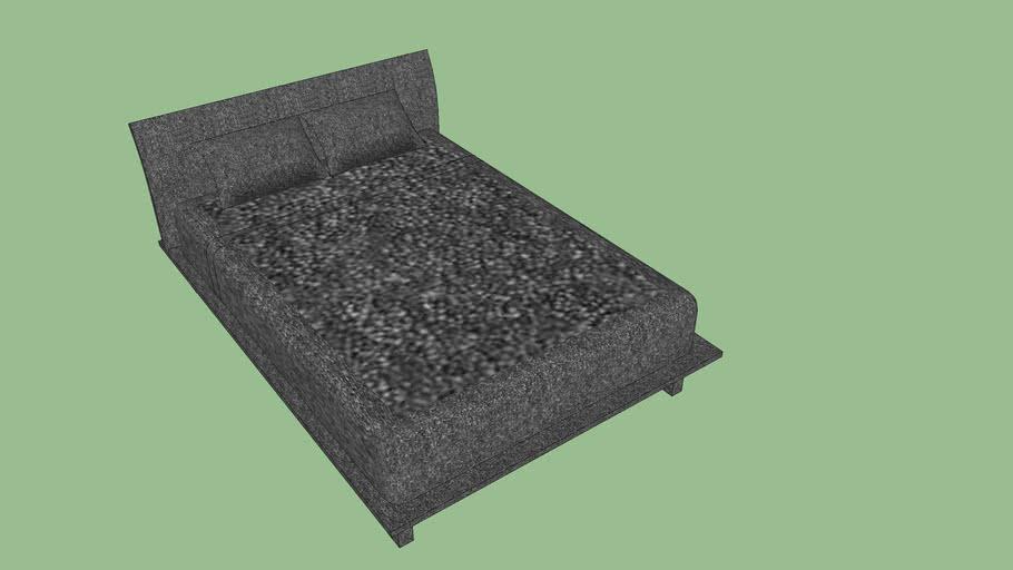 Fully gray bed