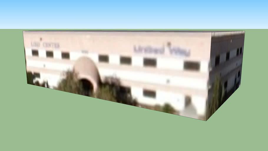 Bâtiment situé Las Vegas, Nevada, États-Unis