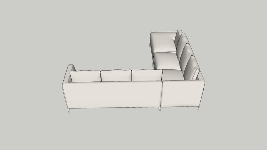 Sofa 5 Lugares em L Ray