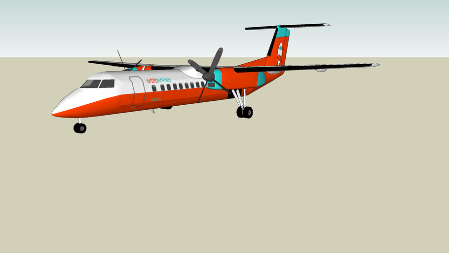 Orbit Airlines Dash 8 Q300