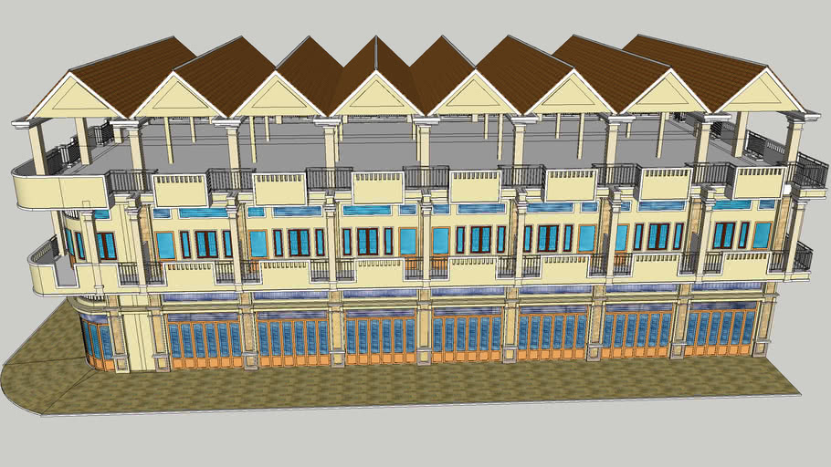 New flat house design