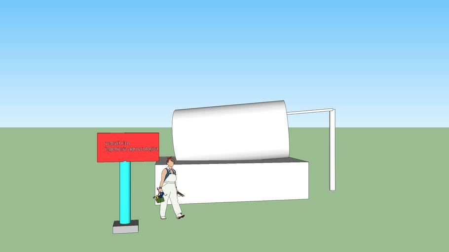 tanque biogas