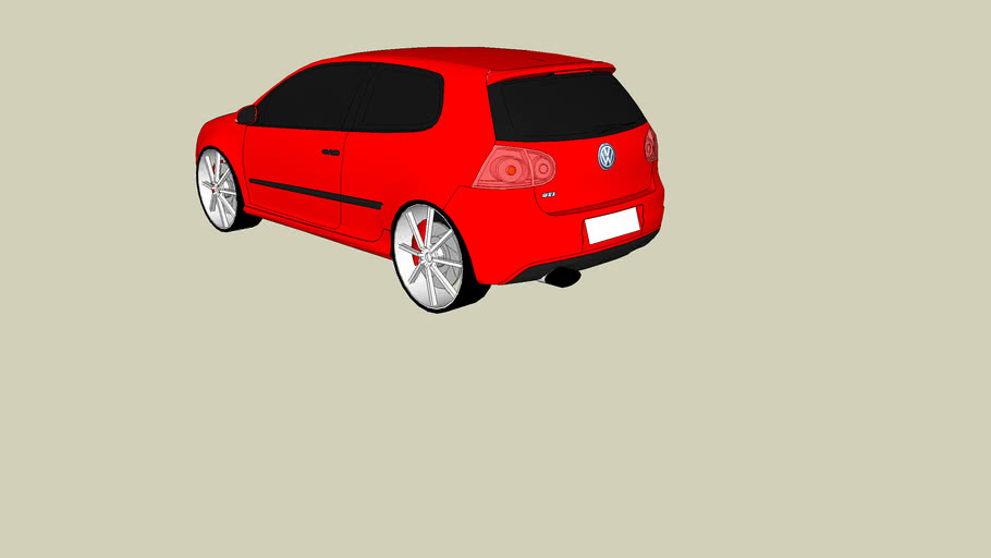 vw golf gti stock