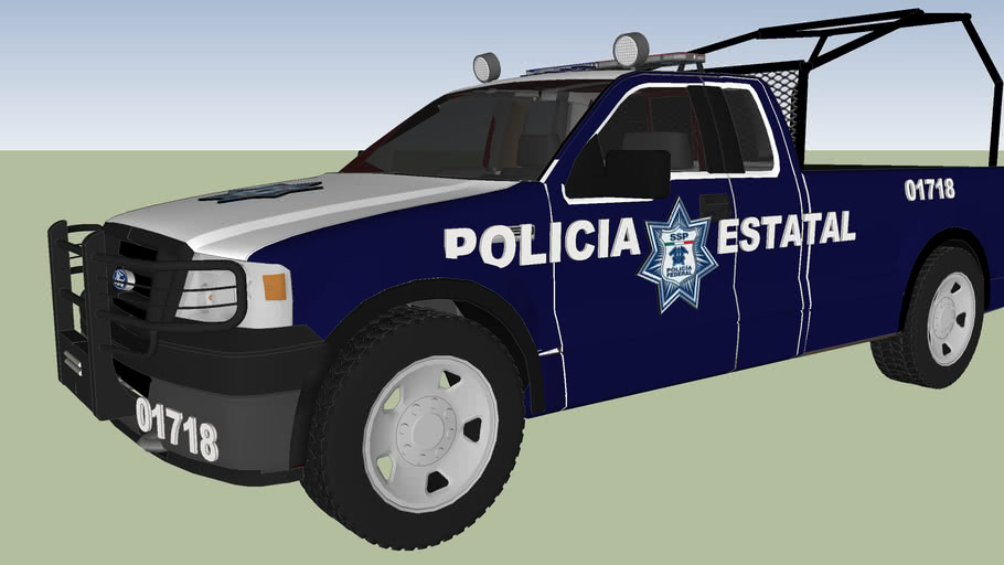 patrulla de seguridad publica policia estatal
