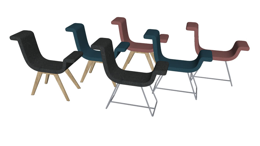 A-normal Chair - Contemporary Seating by Liqui