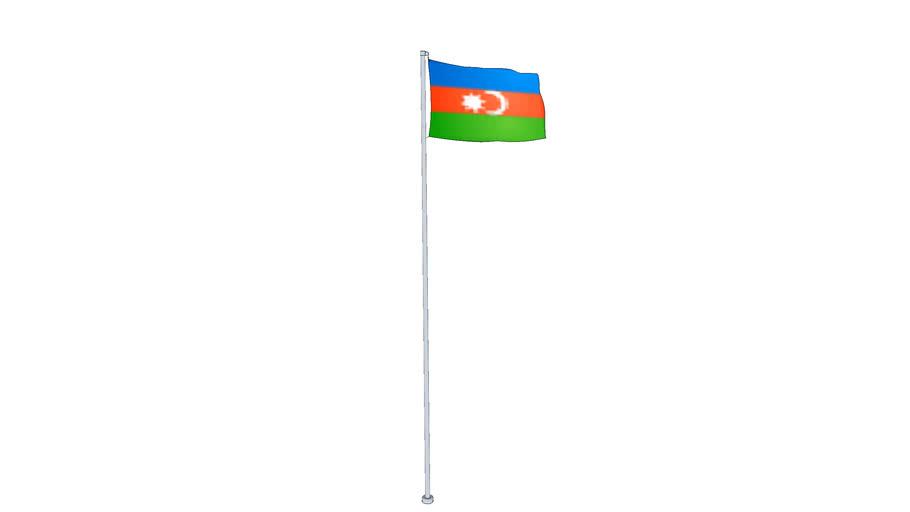 azerbaijan flag - Флаг Азербайджана