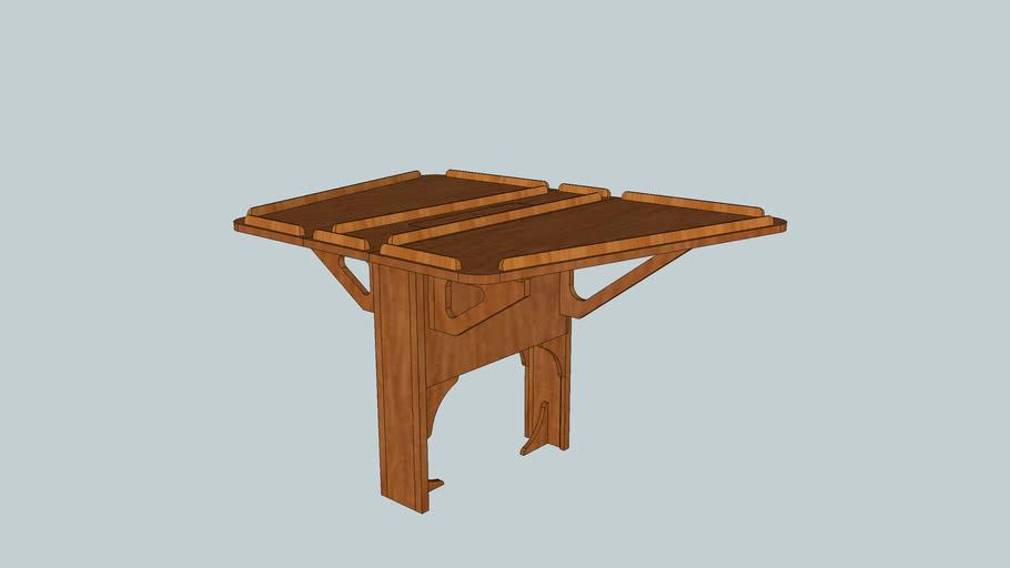 table de carré bateau