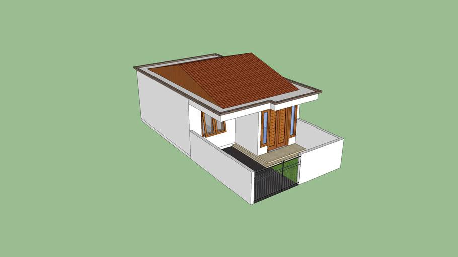 Rumah Minimalis 5 X 10 | 3D Warehouse
