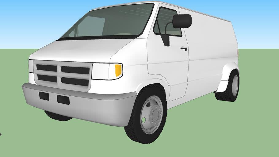 1993 Dodge Ram Tradesman Dually Van
