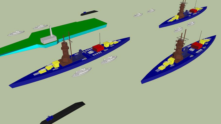 New york battleship