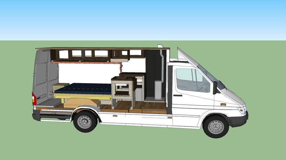 """Sprinter T1N 158"""" Camper Van"""