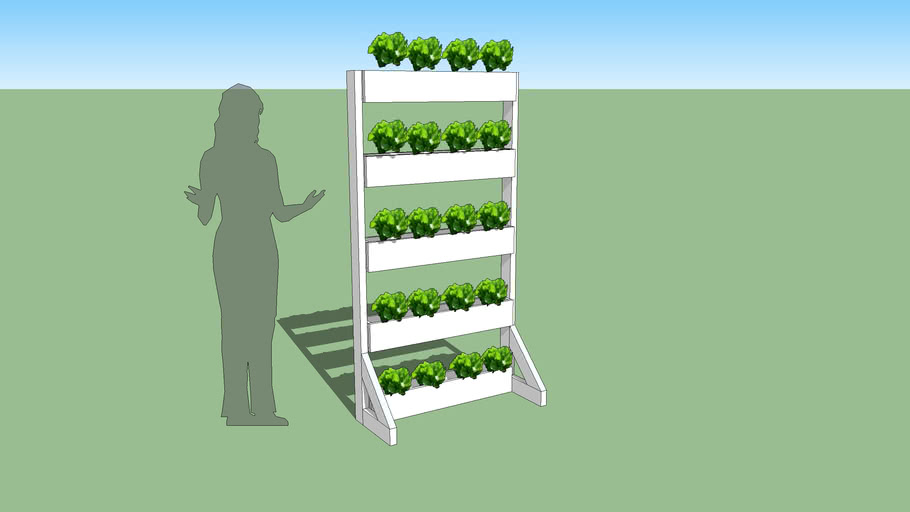 Vertical Planter Vegetable Garden