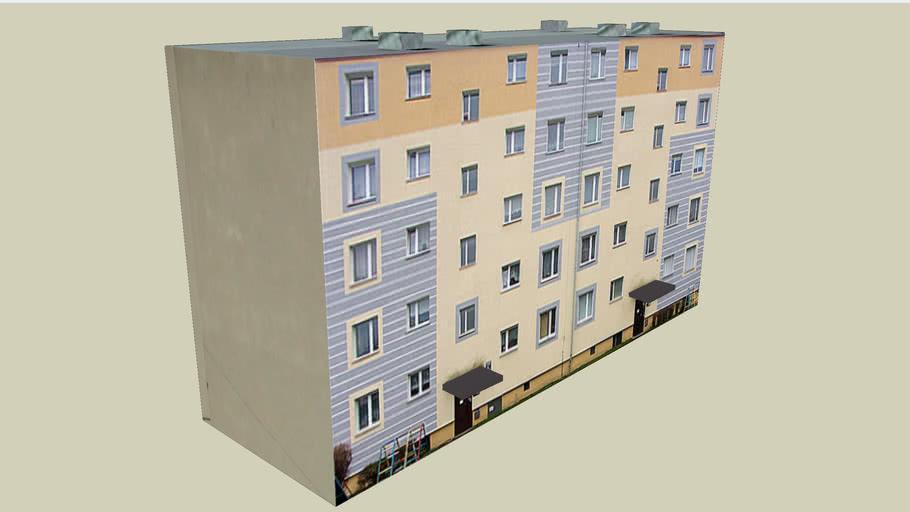 Blok Pucka 7 w Gdańsku - 3D