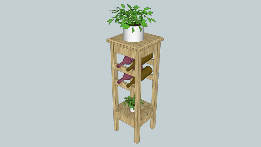 Plant Stand Wine Rack