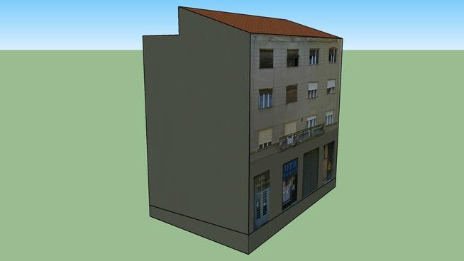 Krajiška - Zgrada