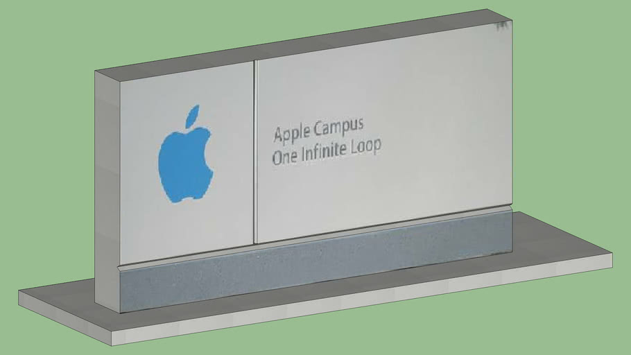 Apple's welcome stone