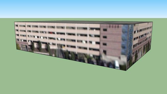 丹佛, CO, USA的建筑模型