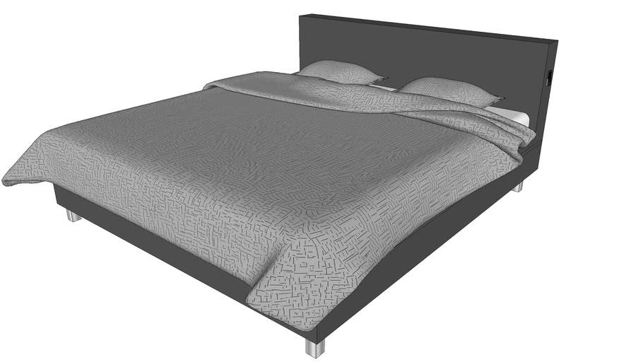 Lit Double LED / LED Double Bed