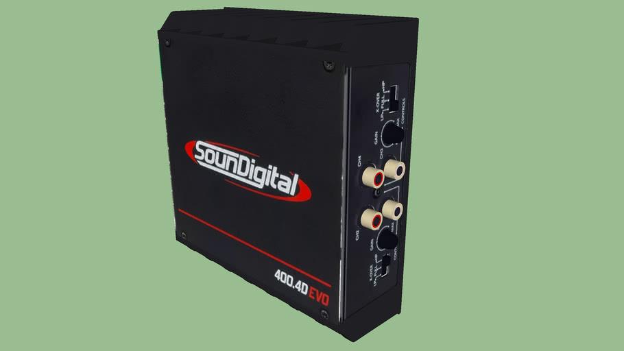 Amplificador SD 400.4D EVO