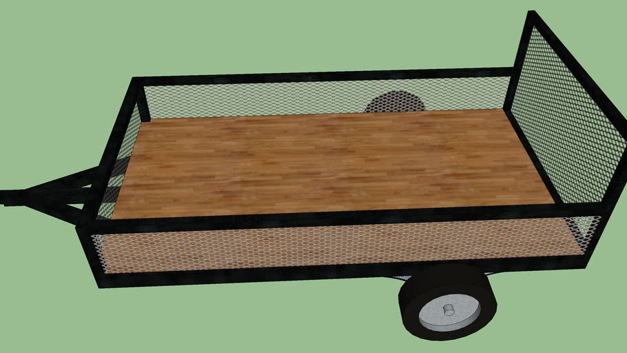 my utility trailer (black)
