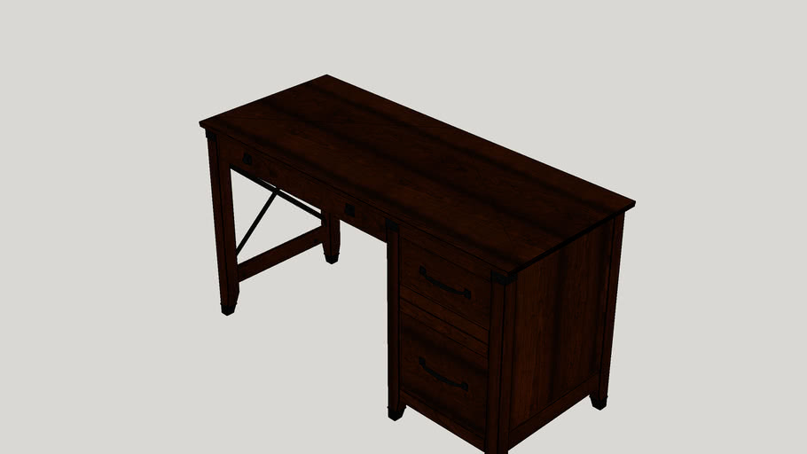Newdale 3 Drawers Computer Desk