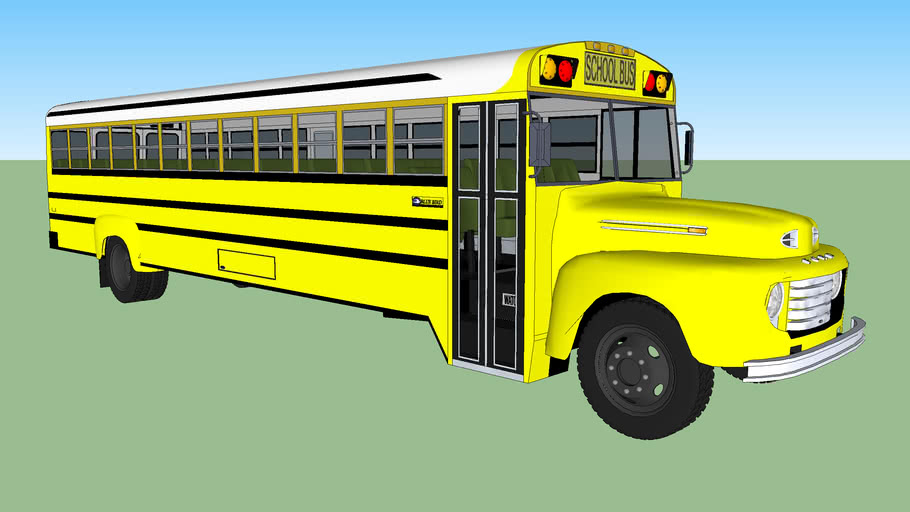 1948 FORD F-700 BLUE BIRD SCHOOL BUS