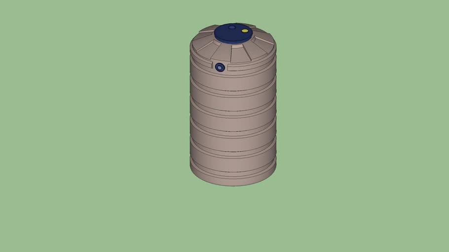 205 Gallon Round Tank