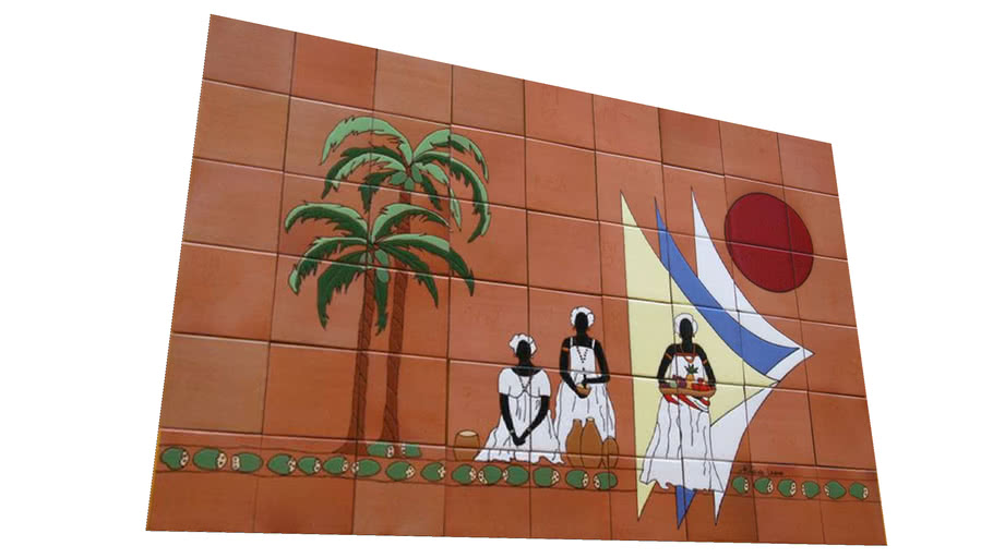 Cerâmica Fênix – ART COLLECTION – Baiana10.000