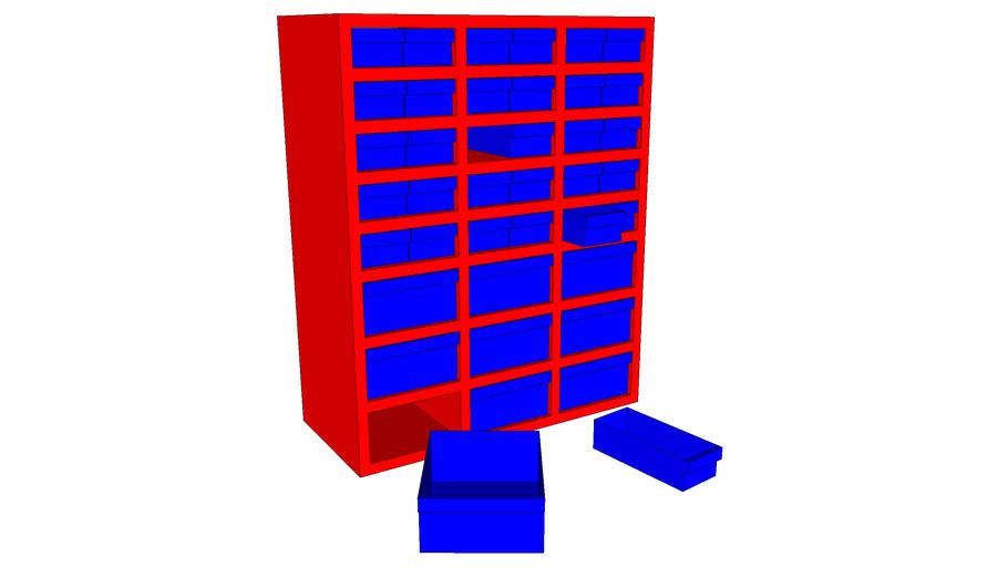 Small parts multi box